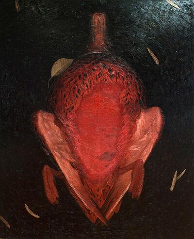 Dragan Bibin, 'Unfinished #7, Red', 2017