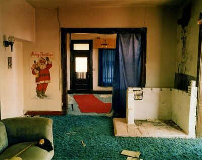 Steve Fitch, 'View inside a house in Ancho, eastern New Mexico, May 14', 2000