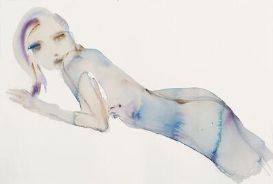 Kim McCarty, 'Blue Reclining- Small', 2017