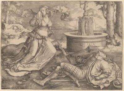 Lucas van Leyden, 'Pyramus and Thisbe', 1514