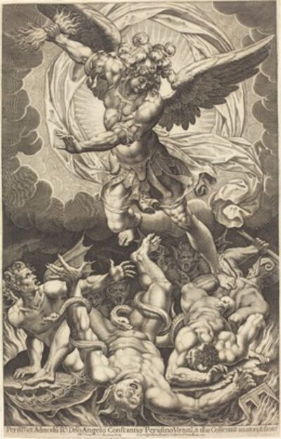Philippe Thomassin, 'The Fall of the Rebellious Angels', 1618