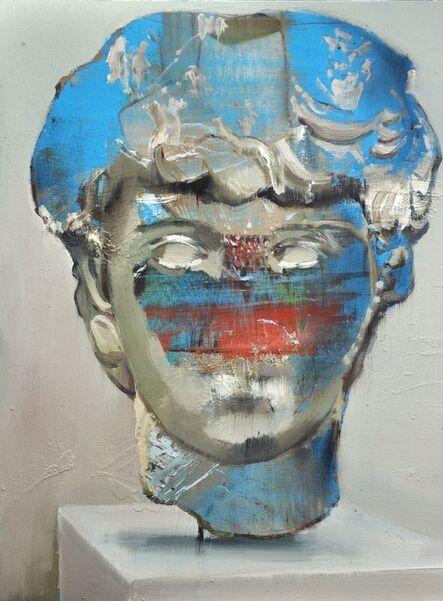 Jochen Pankrath, 'Abstrakte Philosophen IV', 2018