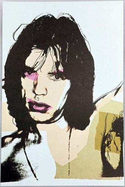 Andy Warhol, 'Warhol Mick Jagger, portfolio of 10 Leo Castelli announcements 1975', 1975