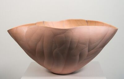 Paula Murray, 'Blush - intricate, nature-inspired, hand-shaped porcelain clay sculpture', 2021
