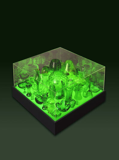 Stuart Haygarth, 'Aladdin Table Green', 2006