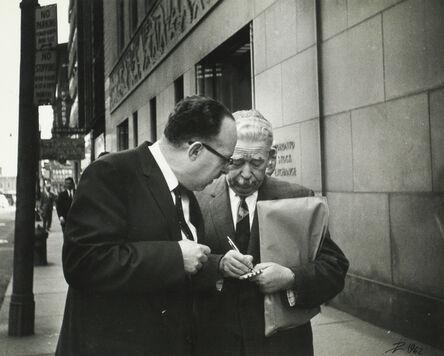 Lutz Dille, 'Toronto', 1962