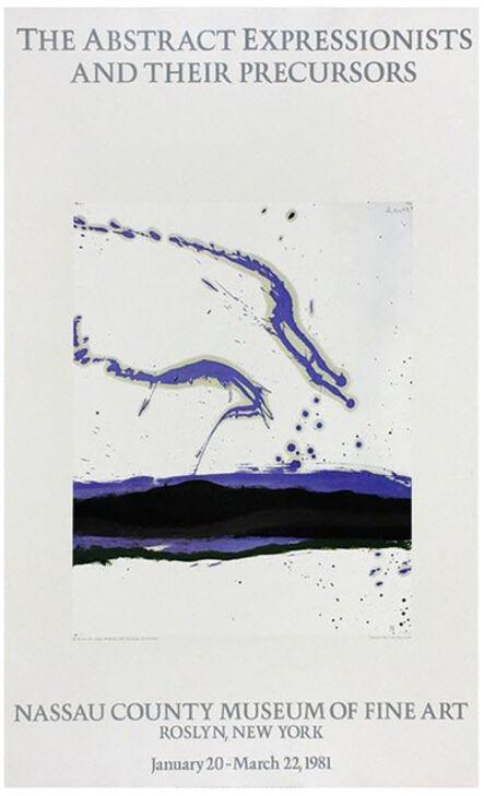 Robert Motherwell, 'Nassau County Museum of Fine Art 1981 (By the Sea No. 18, 1962)', 1981