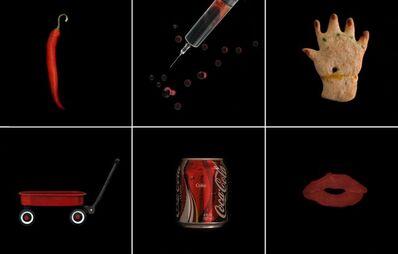 Laurie Tümer, 'Glowing Evidence: Studies in Red', 2005