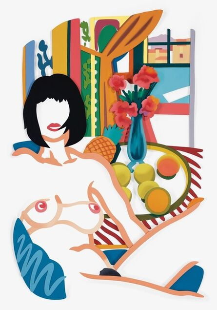 Tom Wesselmann, 'Monica and Matisse Interior with Phonograph (3-D)', 1988/1993
