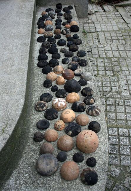 Eugenia Pop, 'Seria Pragul, Negru-Pământ/ Foc (The Threshold Series, Black-Earth/Fire)', 2007