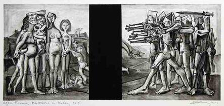 Robert Longo, 'Untitled (After Picasso, Massacre in Korea, 1951)', 2016