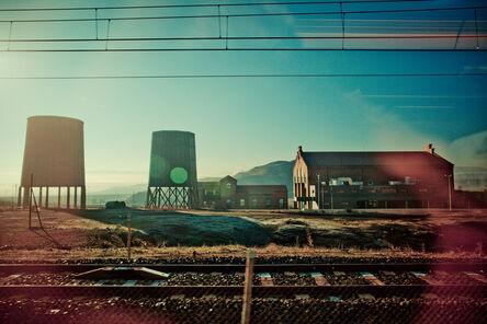 Tao Ruspoli, 'Homage to Giorgio de Chirico - 21st Century, Color, Blue, Contemporary, Landscape', 2012