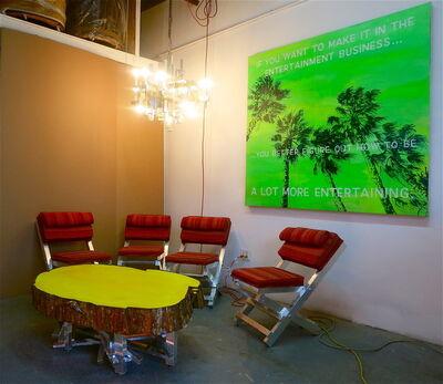 David Kramer, 'Rustic Modern Seating Arrangement', 2012
