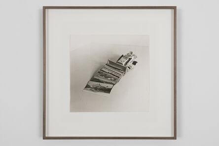 Perejaume, 'Excavadora recollint postals', 1984