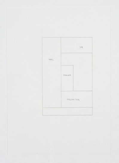 Ayesha Jatoi, 'Wall, sky, doorway, persian rug', 2013