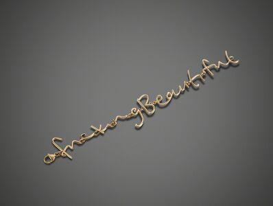 Tim Noble & Sue Webster, 'Fucking Beautiful Bracelet', 2014