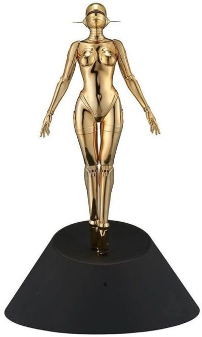 Hajime Sorayama, 'Sexy Robot Floating 1/4 Scale Gold', 2020