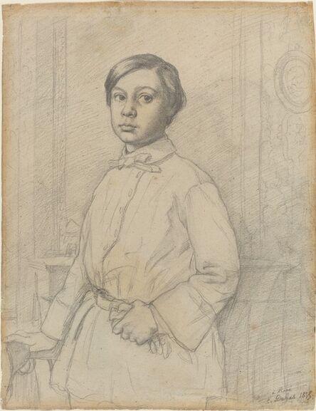 Edgar Degas, 'René de Gas [recto]', 1855