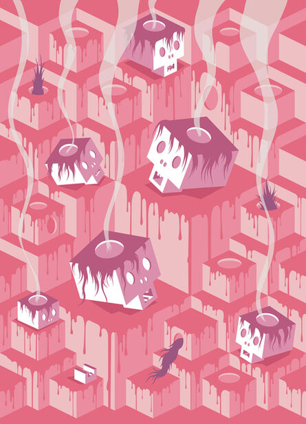 Mark Hosford, 'Cubist Hell', 2017