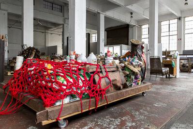 Thabo Pitso, 'Feeding the Five Thousand Scheme I', 2015