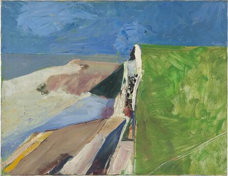 Richard Diebenkorn, 'Seawall', 1957