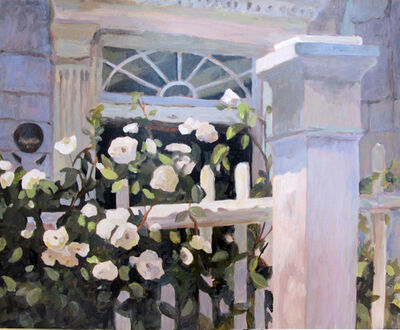 Jann Pollard, 'Charleston White Roses', 2012