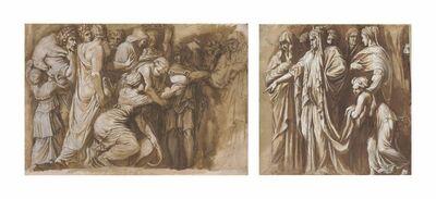 'Scenes from the story of Niobe, after Polidoro da Caravaggio'