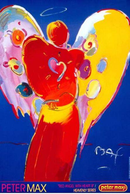 Peter Max, 'Angel with Heart III', 2000