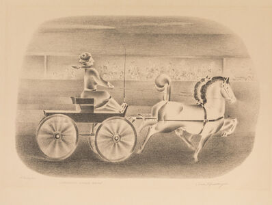 Ivan Messenger, 'Thaia and Quintuplets and Coronado Horse Show'