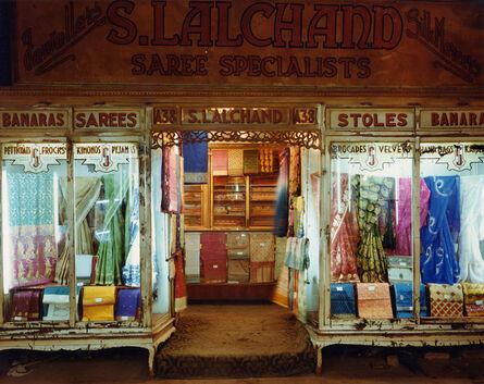 Laura McPhee, 'Saree Shop, Newmarket, Calcutta, India', 1998