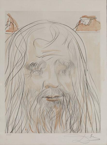 """Salvador Dalí, 'Leonardo  """" Hommage à Leonardo""""', 1975"""