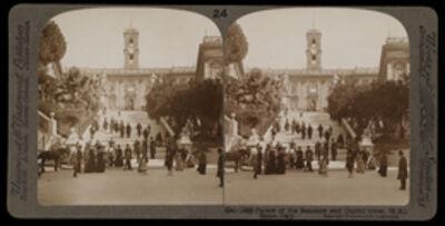 Bert Underwood, 'Palace of the Senators and Capitol tower, Rome', 1900