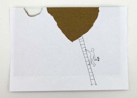 Vlado Martek, 'Ljestve (Leiter/ Ladder)', 2000