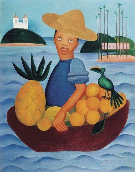 Tarsila do Amaral, 'O Vendedor de frutas', 1925