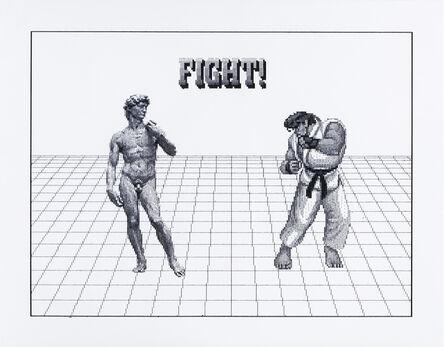 Arno Beck, 'David vs. Ryu', 2019