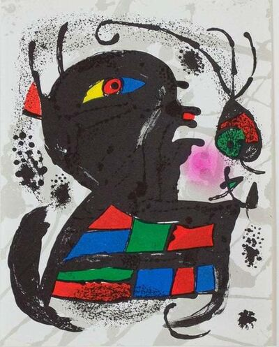 Joan Miró, 'Lithograph V, from Miro Lithographs III', 1972