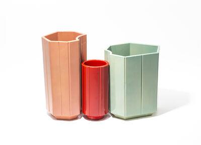 India Mahdavi, 'Monochrome Vases SET #1-2-3 from Series 3', 2013