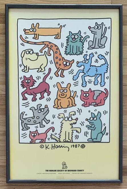 Keith Haring, 'The Humane Society of Broward County', 1988