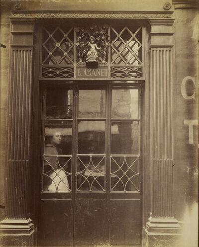 Eugène Atget, 'Storefront (Little Bacchus), rue Saint-Louis-en-I'Ile,', 1901-1902