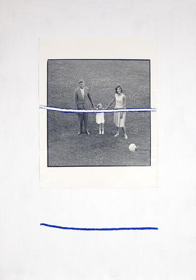 Giuseppe De Mattia, 'Stracciafotografia (JFK #1)', 2016