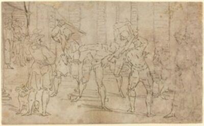 Luca Cambiaso, 'Flagellation of Christ'