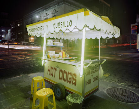 Jim Dow, 'Cart Selling Hot Dogs, Puebla, Puebla State, Mexico', 2012