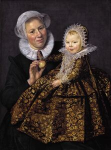 Frans Hals, 'Catharina Hooft and Her Nurse', ca. 1620