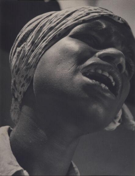 Lionel Wendt, 'Untitled (Singer in Sunshine)', 1938-1939