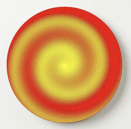 John Zoller, 'John Zoller, Red Twisted Yellow', 2020
