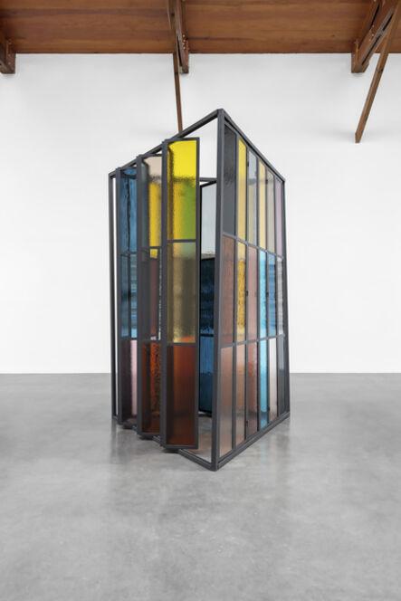 Sofía Táboas, 'Cualquier abertura filtrada, plegable', 2019