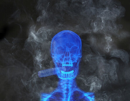 Alexander de Cadenet, 'The Smoker', 2015