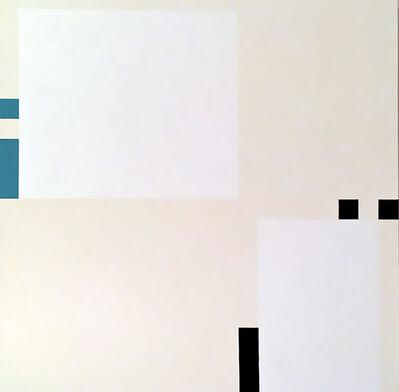 César Paternosto, 'Black and blue', 2011