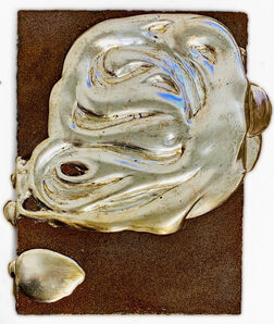 Nancy Lorenz, 'White Gold and Iron Filings', 2017