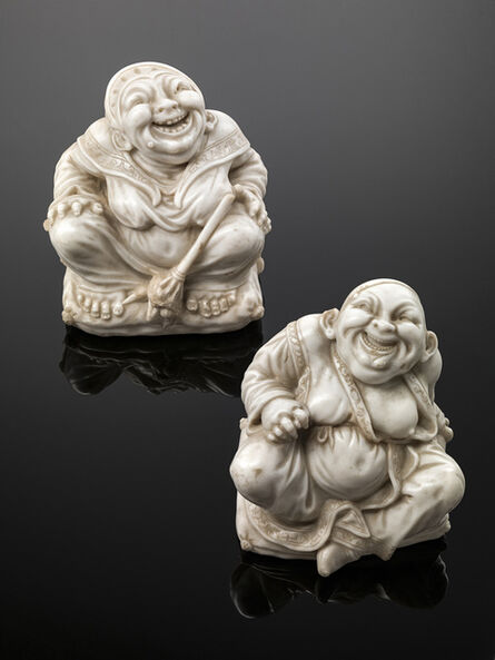 Giovanni Bonazza, 'PAIR OF CHINESE PAGODA FIGURES'